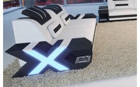 2 Sitzer Sofa MYSTIQUE mit LED Beleuchtung & USB Anschluss NATIVO™ Möbel Schweiz