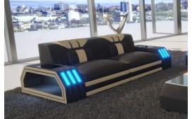 2 Sitzer Sofa CLERMONT mit LED Beleuchtung