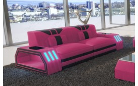 2 Sitzer Sofa CLERMONT mit LED Beleuchtung NATIVO™ Möbel Schweiz