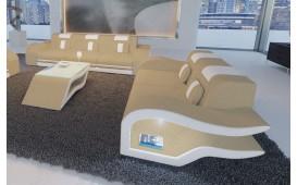 2 Sitzer Sofa HERMES mit LED Beleuchtung NATIVO™ Möbel Schweiz