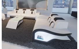 Canapé Design 2 places HERMES avec éclairage LED