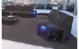 Divano di design a 2 posti AVENTADOR con illuminazione a LED