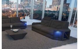 Canapé Design 2 places AVENTADOR avec éclairage LED