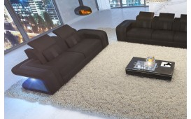 2 Sitzer Sofa SPACE mit LED Beleuchtung NATIVO™ Möbel Schweiz