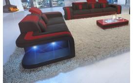 Divano di design a 2 posti SPACE con illuminazione a LED