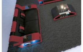 Divano di design a 2 posti MATIS con illuminazione a LED