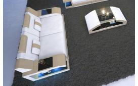 Canapé Design 2 places MATIS avec éclairage LED