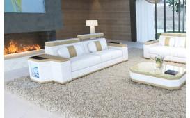Divano di design a 2 posti CESARO con illuminazione a LED