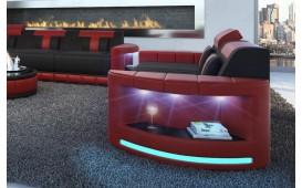 Divano di design a 2 posti ATLANTIS con illuminazione a LED