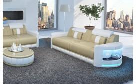 Canapé Design 2 places ATLANTIS avec éclairage LED