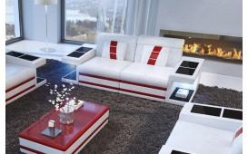 2 Sitzer Sofa CAREZZA mit LED Beleuchtung NATIVO™ Möbel Schweiz