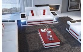 Divano di design a 2 posti CAREZZA con illuminazione a LED