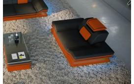Fauteuil Design ROUGE avec éclairage LED et port USB