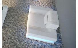 Poltrona di design ROUGE con illuminazione a LED e presa USB