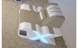 Fauteuil Design MYSTIQUE avec éclairage LED et port USB