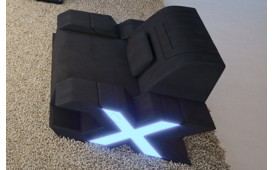 Sessel MYSTIQUE mit LED Beleuchtung & USB Anschluss NATIVO™ Möbel Schweiz