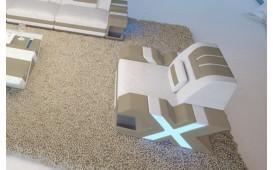 Poltrona di design MYSTIQUE con illuminazione a LED  e presa USB