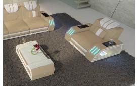 Sessel CLERMONT mit LED Beleuchtung NATIVO™ Möbel Schweiz
