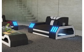 Fauteuil Design CLERMONT avec éclairage LED