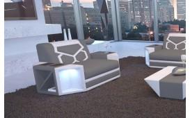 Poltrona di design AVENTADOR con illuminazione a LED