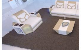Fauteuil Design AVENTADOR avec éclairage LED