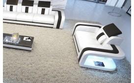 Poltrona di design SPACE con illuminazione a LED