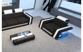 Poltrona di design IMPERIAL con illuminazione a LED