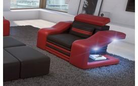 Divano di design a 2 posti MIRAGE con illuminazione a LED