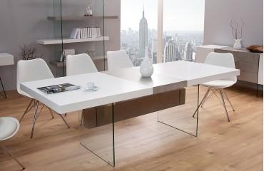 Tavolo allungabile DUO CONCRETE 160-200 cm NATIVO mobili sala da pranzo