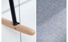 Designer Stuhl SQUIRE GREY NATIVO™ Möbel Schweiz