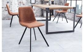 Chaise Design DELFT BROWN