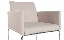 Chaise design PALERMO BEIGE