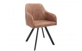 Chaise Design LECCE BROWN
