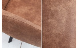 Chaise Design LECCE BROWN