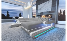 Designer Sofa IMPERIAL XL mit LED Beleuchtung