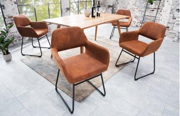 Designer Stuhl SHELBY BROWN NATIVO™ Möbel Schweiz