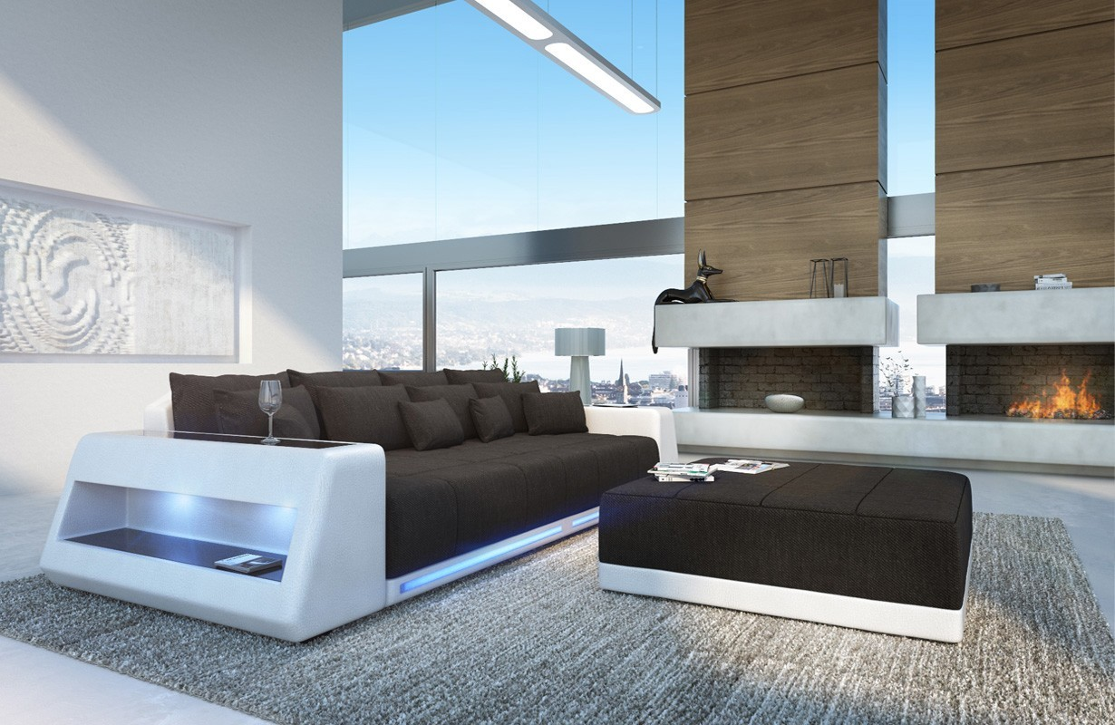 edles ledersofa big sofa vice bei nativo m bel schweiz g nstig kaufen. Black Bedroom Furniture Sets. Home Design Ideas