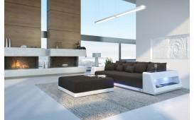 BIG Sofa VICE mit LED Beleuchtung + Hocker von NATIVO™ Designer Möbel Schweiz