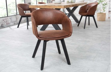 Sedia di design NORTH BROWN