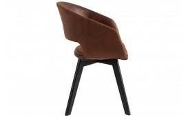 Chaise Design NORTH BROWN