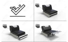 Designer Sofa CLERMONT CORNER mit LED Beleuchtung NATIVO™ Möbel Schweiz