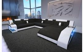 Designer Sofa MATIS XXL mit LED Beleuchtung Ab lager