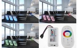 Designer Sofa CAREZZA 3+2+1 mit LED Beleuchtung von NATIVO™ Designer Möbel Schweiz