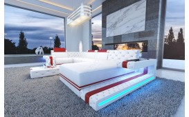 Designer Sofa IMPERIAL XL mit LED Beleuchtung
