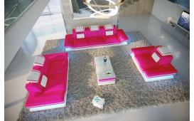Divano di design ROUGE  3+2+1 con illuminazione a LED e presa USB NATIVO™ Möbel Schweiz