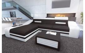Designer Sofa MIRAGE MINI mit LED Beleuchtung (Schwarz / Weiss) Ab lager NATIVO™ Möbel Schweiz