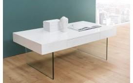 Designer Couchtisch BALANCE WHITE 110 cm