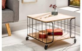 Designer Couchtisch CAGE BLACK OAK ROLL NATIVO™ Möbel Schweiz