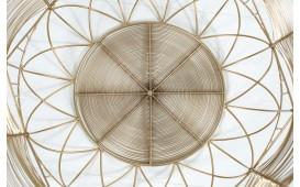 Designer Couchtisch CAGE GOLD 42 cm NATIVO™ Möbel Schweiz