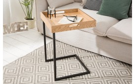 Table d'appoint Design CIARO BLACK OAK